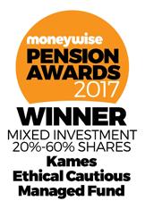 Moneywise 2017 Pension Awards logo