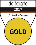 Defaqto gold service logo