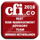 Best Risk Management Advisory Team Award Logo