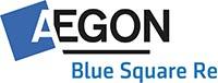 Aegon Blue Square Re Logo